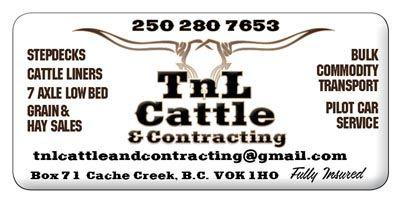 TnL Cattle and Contracting