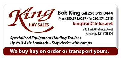 King Hay Sales