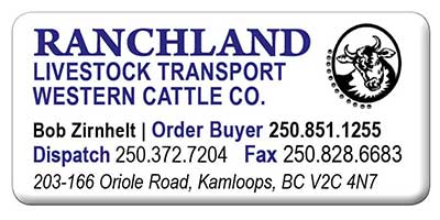 Ranchland Livestock Transport Western Cattle Co.