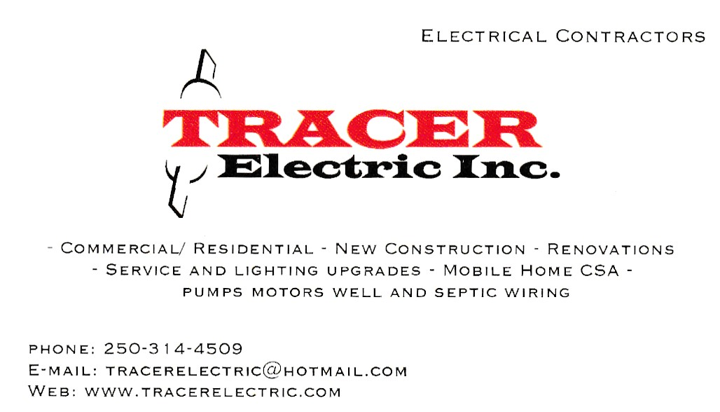 Tracer Electric Inc.