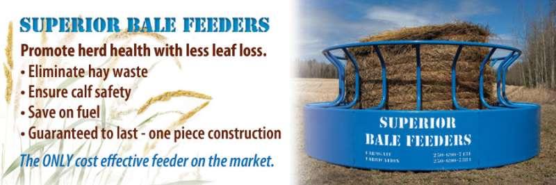 superior bale feeder ad